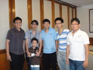 (L to R) Thian, KP, Chang, Cheah & Ling